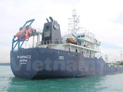 越南VP ASPHALT2号货船的身亡船员尸体今日运送回国