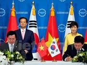 越南与韩国自由贸易协定谈判圆满结束