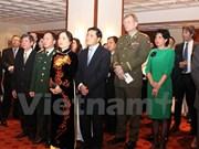 越南驻捷克大使馆举行庆祝越南人民军建军70周年招待会