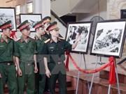 胡伯伯部队艺术图片展在胡志明市开展