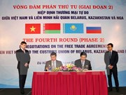 越南与俄白哈关税同盟自贸协定谈判明年初有望签署