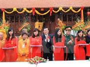 越南国家主席张晋创出席板约竹林佛迹寺的落成典礼