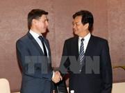 越南政府总理会见欧亚经济委员会贸易部长