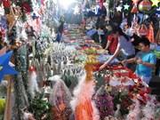 2014年越南河内圣诞货品市场探访:越南国货占领市场