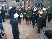 越南林同省水电工程隧道坍塌事故:12名受困者全部获救