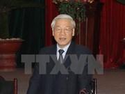 越共中央总书记阮富仲:越南共产党对军队绝对和直接领导