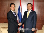 越南政府总理阮晋勇会见泰国总理巴育·占奥差