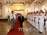 大力促进越南与印度合作关系