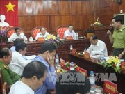 越南政府副总理阮春福莅临平福省调研