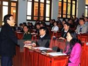 越南国家主席张晋创:领导干部要做到讲真话说直话