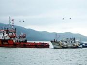 越南海上警察力量成功救助海上失控的中国渔船