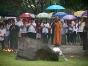 泰国和印度举行印度洋海啸十周年纪念仪式