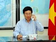 亚航QZ8501航班失联事件:越南政府副总理兼外交部长与印尼外长通电话