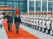 越南国家主席张晋创出席第七十次全国公安会议