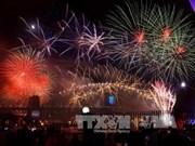 世界各国纷纷举行跨年活动喜迎2015年到来
