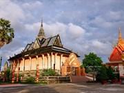 越南薄辽省富丽的暹赣寺