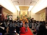 旅居日本的越南社群举行新年祈求平安仪式