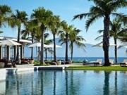 越南三家度假村跻身世界最美海滩度假村40强