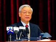 阮富仲总书记在越共第十一届中央委员会第十次全体会议发表讲话