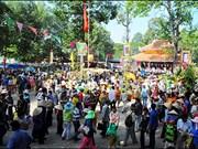 越南同塔省塔丘庙会吸引游客量达35万人次