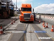 越南政府加大对超载车辆查处力度