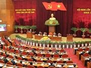 越共第十一届中央委员会第十次全体会议进入第五天