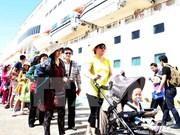 越南岘港市接待2015年第一艘游轮