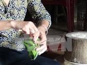 北宁省裴舍村独具匠心的特色菜肴——猪皮肉丝卷