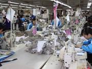 2015年越南纺织服装集团力争营业额达55万亿越盾