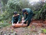 越南河江省成功拆除一枚100磅的未爆炸炸弹