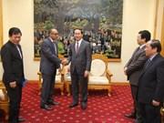 越南公安部部长陈大光会见古巴驻越南大使