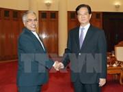 越南政府总理阮晋勇会见沙特阿拉伯新任驻越大使达科尔