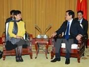 越南国家主席会见中国人民对外友好协会会长