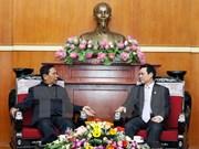 越南福音教长老会向越南祖国阵线致以春节问候