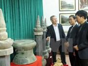 越南历代古董展亮相宁平省
