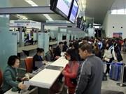 本月29日起越航各内地航班登机手续将在T1航站楼办理