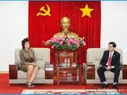 荷兰埃门区工作代表团赴越南平阳省寻找合作商机