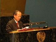 越南副总理张永仲出席2011年联合国大会艾滋病问题高级会议