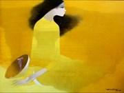 越南内在美画展在英国开幕