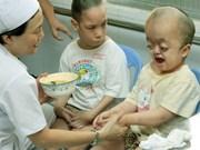 向越南橙毒剂受害者援助63亿多越盾