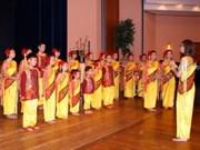 越南童声合唱团首次参加勃拉姆斯国际合唱节