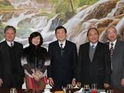 国家主席张晋创要求法律大学提高培训质量