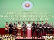 第46届东盟经济部长系列会议聚焦东盟经济共同体建成议题