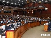 柬埔寨国会投票选出国会第一和第二副主席