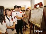 """""""越南的黄沙与长沙群岛:历史证据与法律依据""""展会开幕"""