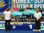 2014年越南国际羽毛球公开赛:阮进明、武氏庄止步半决赛
