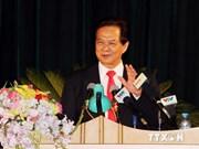越南政府总理阮晋勇出席国防学院新学年开学典礼