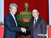 苏辉瑞会见日本国家政策学院院长白石隆