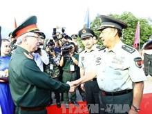 越中举行2017年第四次边境国防友好交流活动(组图)