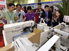 越南国际纺织面料及服装辅料展览会开幕(组图)